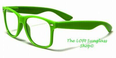 Nerd Glasses Cute Non Prescription Lens Fashion Colorful Neon (Cute Non Prescription Glasses)