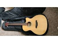 Crafter electro acoustic guitar