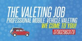 The Valeting Job - Mobile Vehicle Valeting Essex