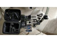 GoPro Hero 3 Black Edition. 5 Batteries. 2 Chargers. Carry Case. Waterproof Casing REDUCED