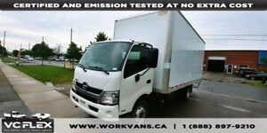 2014 Hino 145 195 - 20Ft Diesel - GVW 19500LB - Pull Out Ramp