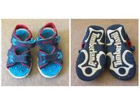 Timberland boys sandals infant size 5.5