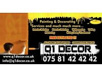 Painting & Decorating Services/Painter Decorator