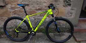 Mountain bike - Cube 2015 LTD pro 29 fluro yellow. Practically new.