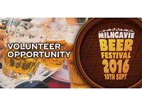 Our Buzz Milngavie ** Volunteer Opporunity ** Milngavie Beer Festival 2016