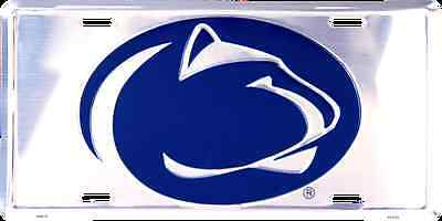 Penn State License Plate - PENN STATE NITTANY LIONS CAR TRUCK TAG CHROME LICENSE PLATE SIGN UNIVERSITY
