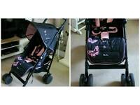 Silver Cross Pop 'Pink Butterfly' Stroller