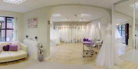 WEDDING DRESS BUSINESS + SHOP FIXTURES & FITTINGS