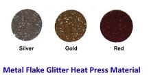MAKE YOUR OWN T-SHIRTS Heat Transfer Glitter Flake CAD Cut Vinyl Upper Kedron Brisbane North West Preview