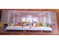 DC Comics Superheroes canvas, the last supper