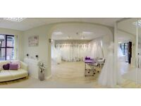 Bridal Business for sale in Tamworth, includes all stock & new fixtures & fittings