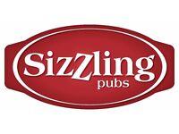 Bar & Waiting Team Leader - Sizzling Pubs Chessington Oak