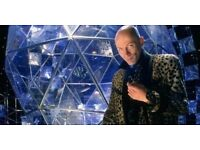 CRYSTAL MAZE MANCHESTER - GROUP OF 8 TICKETS