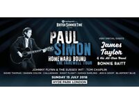 2 x Paul Simon at British Summer Time, Hyde Park