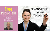 Free public talk: Meditation and Mindfulnes. Monday 9th April 7.30-8.30pm 17 guild hall lane LE15FQ