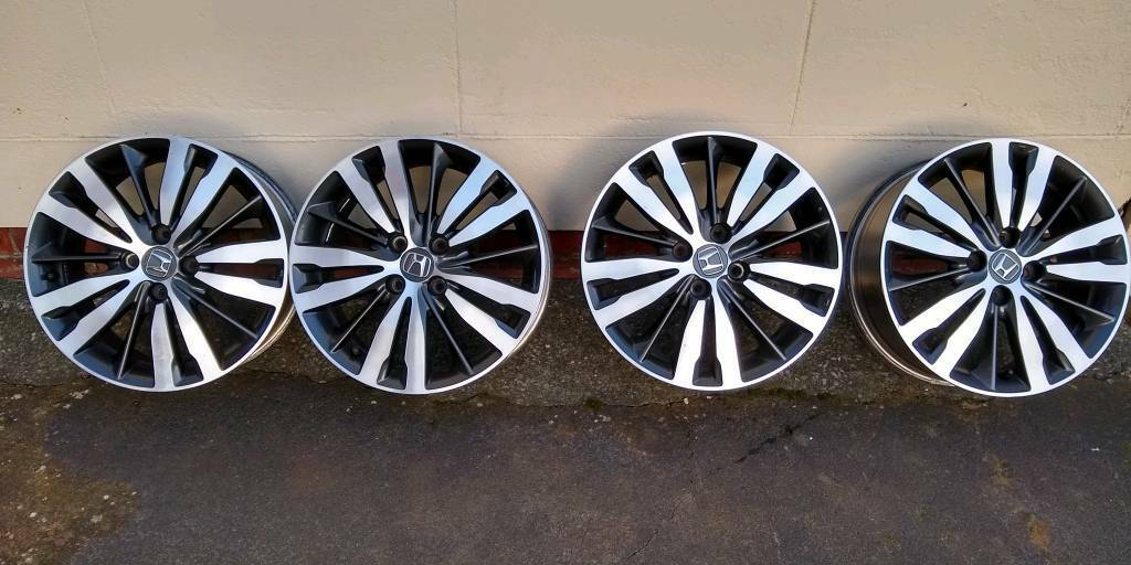 Honda Jazz Alloy Wheels In Thornton Cleveleys Lancashire Gumtree