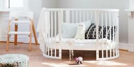 Stokke crib cot with extras