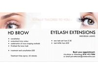 Mobile HD Brows & Individual Eyelash Extensions