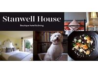 Live In Waiter / Waitress Stanwell House Hotel