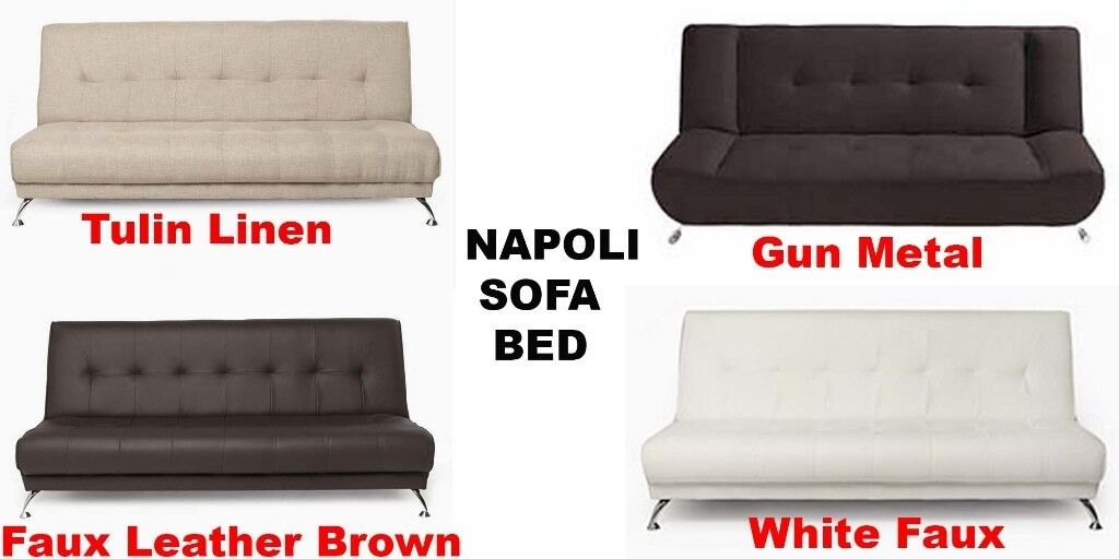 Brand New Napoli Deluxe Fold Down Function Faux Leather