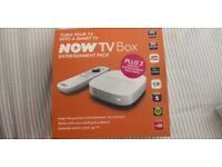 Now TV box unused