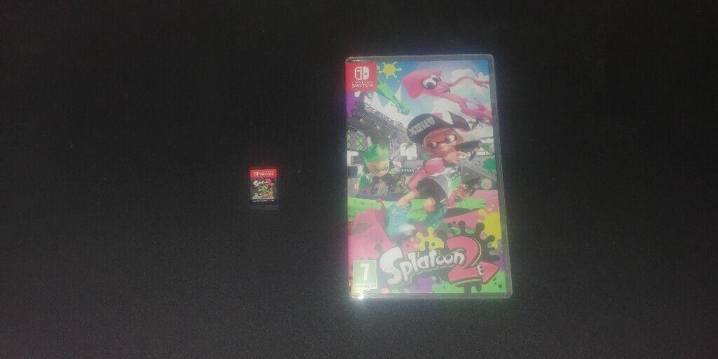 Splatoon 2 Nintendo Switch Game w/ Box | in York, North Yorkshire | Gumtree