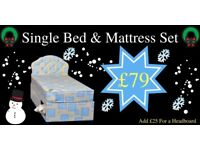 ** Single Bed & Mattress**