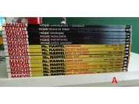 Marvel Comic Books - Avengers, Wolverine, X-Men, Black Panther, Captain Marvel, Nova, New Mutants