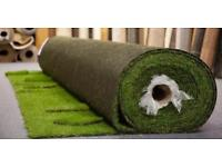 Artificial grass ,roll end 5 m x 4 m 32 mm thick lovely quality, bargain £280