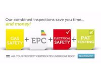 EPC , Gas Safety Certificate And PAT Test £50 ONLY