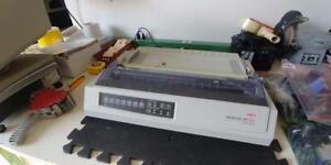 OKI Microline 391 Turbo  Monochrome Dot-Matrix Printer USB Parallel