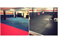 Fitness studio to Rent in Bournemouth by the hour, boot camp studio with plenty of space .