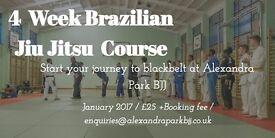 Beginners' course in Brazilian Jiu Jitsu