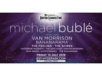 MICHAEL BUBLE / Van Morrison/ Bananarama in Hyde Par. Friday 13th July.