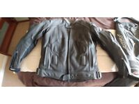 RST Slice 1013 Sports Leather Motorcycle 2 pc. Full CE Approved Armour