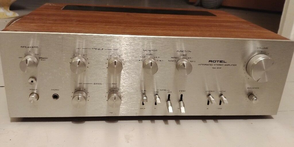 Rotel RA-612 Stereo Integrated Amplifier | in Worthing, West Sussex |  Gumtree