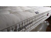 SLEEPEEZEE PERFECTLY BRITISH REGENT 2600 6FT SUPER KING SIZE MATTRESS MED/FIRM