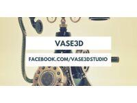 Freelance 3D Artist ** 3D Visualiser ** Vase3d