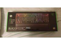 Razer BlackWidow V3 Pro - Green Switch - UK - Brand New Sealed