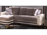 Step Corner Sofa Bed