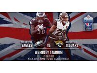 1x Ticket for NFL Eagles vs Jaguars at Wembley