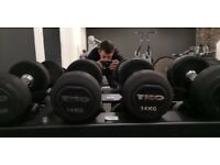 TKO Dumbbells (Very Used)