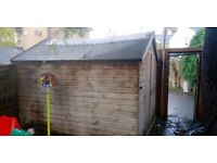 Large garden shed (3m x 2.3m)