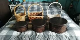 Job lot new & used baskets