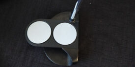 Odyssey O Works 2 Ball Putter in excellent fitted with recent superstroke grip