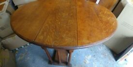 Lovely drop leaf table