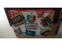 Nintendo Labo - variety and robot kit