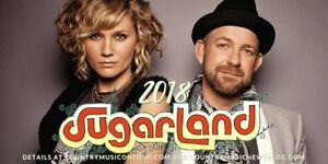 Floor Seats for Sugarland at Fallsview