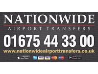 Nationwide Airport Transfers. On time, every time