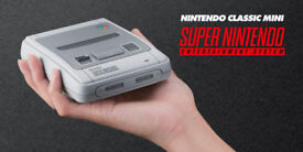 SNES (Super Nintendo) Classic Mini Console with 300+ fully working, tested games included £145 ono